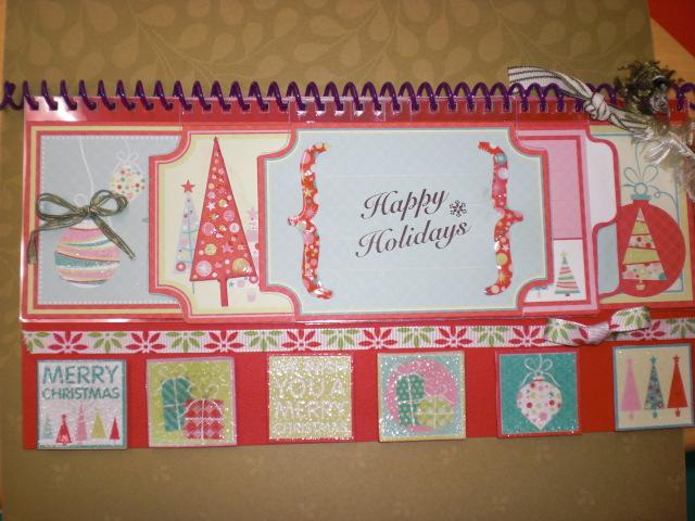 クリスマスのミニブックを作ってみました_e0187618_093456.jpg