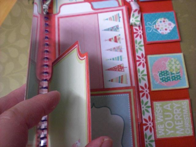 クリスマスのミニブックを作ってみました_e0187618_095182.jpg