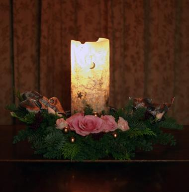 クリスマスの花綵(づな) フェスツーン_d0133320_23342413.jpg