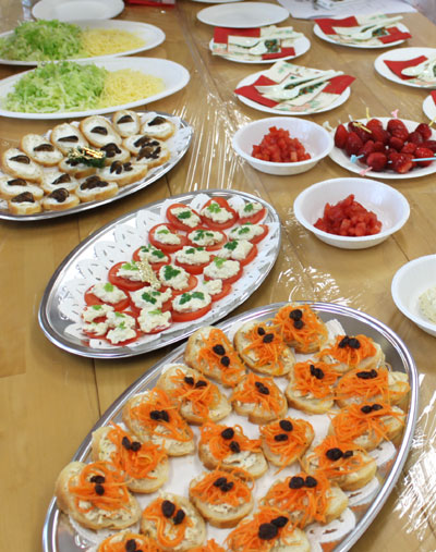 ★☆party food レポート☆★_e0043367_16142197.jpg