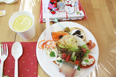 ★☆party food レポート☆★_e0043367_16563791.jpg