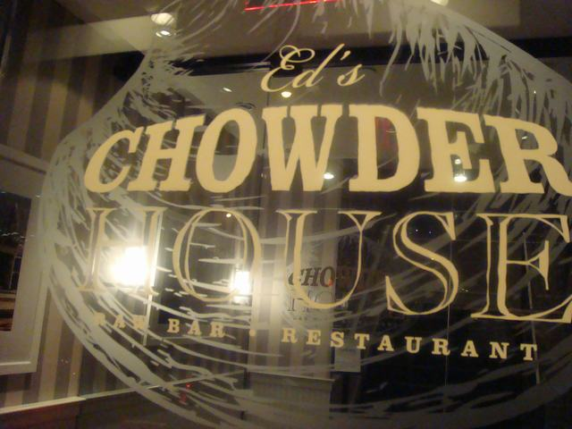 コンサートの後はCHOWDER HOUSEで夕食、_d0100880_23251794.jpg