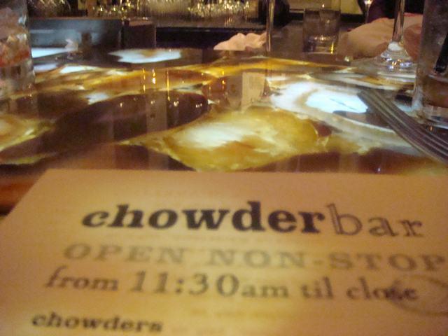 コンサートの後はCHOWDER HOUSEで夕食、_d0100880_23255384.jpg