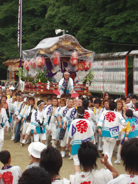 八幡巡礼 〜高良社・太鼓祭〜_e0074793_21211191.jpg