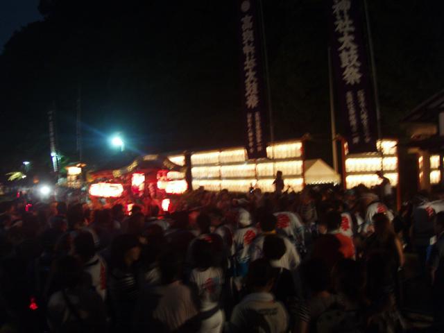 八幡巡礼 〜高良社・太鼓祭〜_e0074793_2122950.jpg