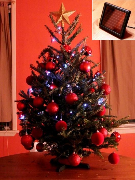ソーラーパネルつき家庭用クリスマスツリー向けLED電球_b0007805_20502898.jpg