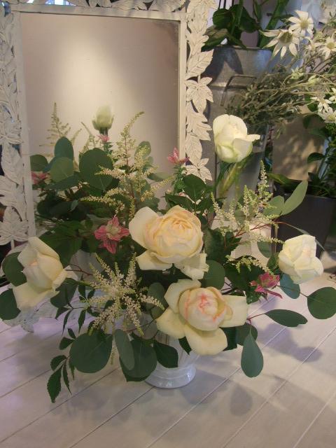 オークリーフ花の教室(石井さんの作品)_f0049672_18114859.jpg