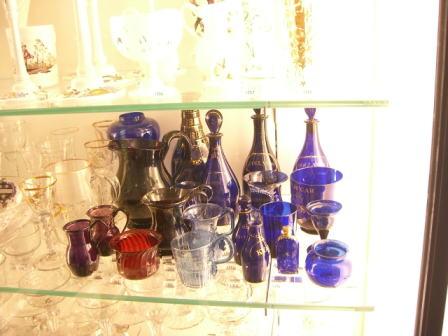 クリスマスカラーのグラスは..........._d0127182_15481526.jpg