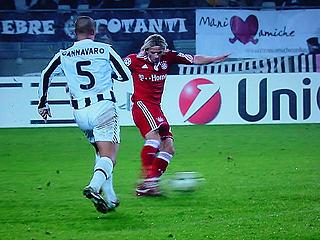 ユベントス×バイエルン・ミュンヘン UEFAチャンピオンズリーグ 09-10グループリーグ_c0025217_13504153.jpg