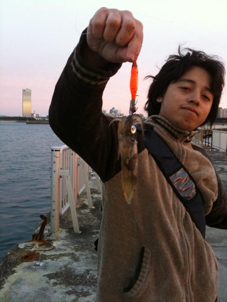 イカ釣りいってきましたw「花見川河口」_f0131216_15345250.jpg