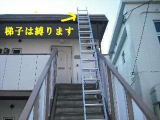 賃貸物件・屋根塗装と浴室リフォーム工事中_f0031037_19133924.jpg