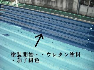 賃貸物件・屋根塗装と浴室リフォーム工事中_f0031037_1914218.jpg