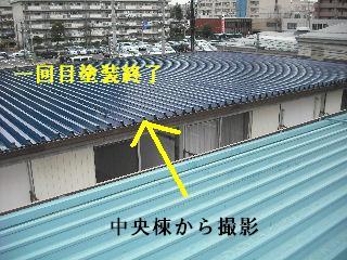 賃貸物件・屋根塗装と浴室リフォーム工事中_f0031037_19162879.jpg