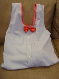 Sew Easy! シャツをリフォームしてエコバッグとエプロンを作る♪_b0130809_102033.jpg