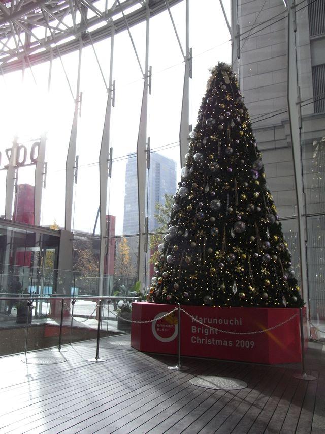 クリスマスムードの丸の内はまだ秋_c0025115_2356362.jpg