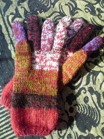 おばあちゃんの毛糸の手袋_e0186725_14412711.jpg