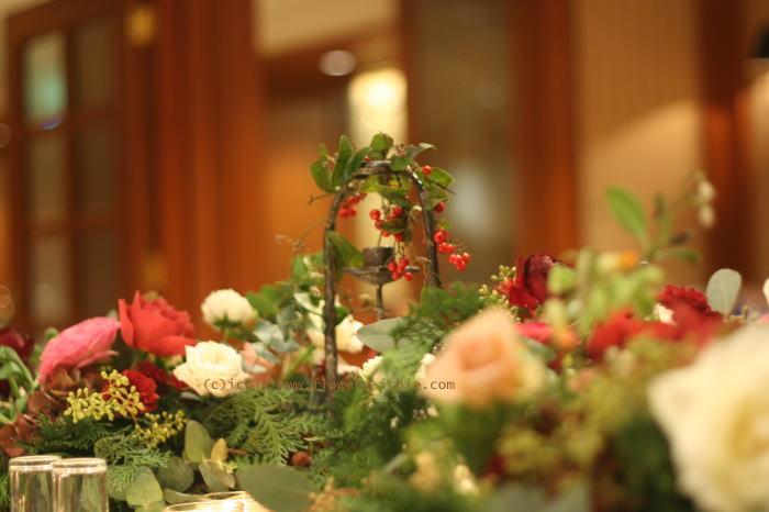 シティクラブオブ東京様への装花 クリスマスの前に_a0042928_222363.jpg
