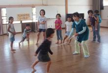 筑豊文化体験子ども教室 2009 わらべうた_f0040233_2048832.jpg