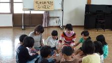 筑豊文化体験子ども教室 2009 わらべうた_f0040233_20543071.jpg