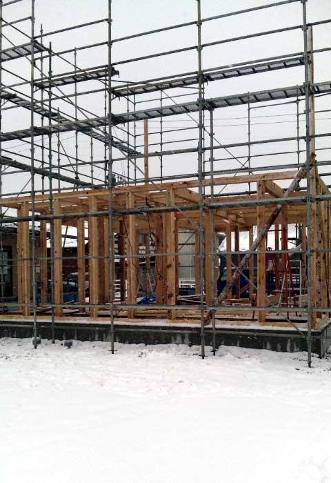 「薬師堂の家」 建て込み中!_f0150893_1821626.jpg