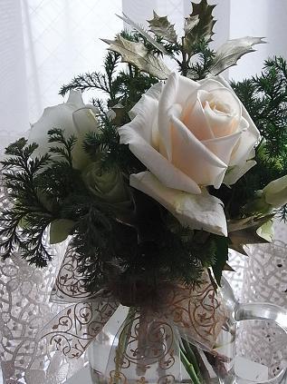 クリスマスアレンジのバラ♪_b0105897_12452.jpg