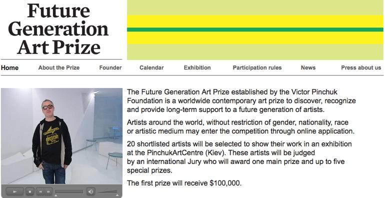 応募してみる? Future Generation Art Prize #art #contemporaryart #gallery #artist #painter _b0074921_0151374.jpg