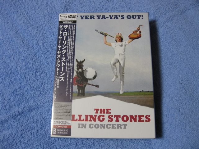 THE ROLLING STONES / GET YER YA-YA\'S OUT! (3-CD + DVD)_c0065426_2273852.jpg