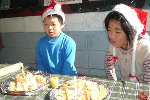 ねっこ、クリスマス会_c0217044_0505286.jpg