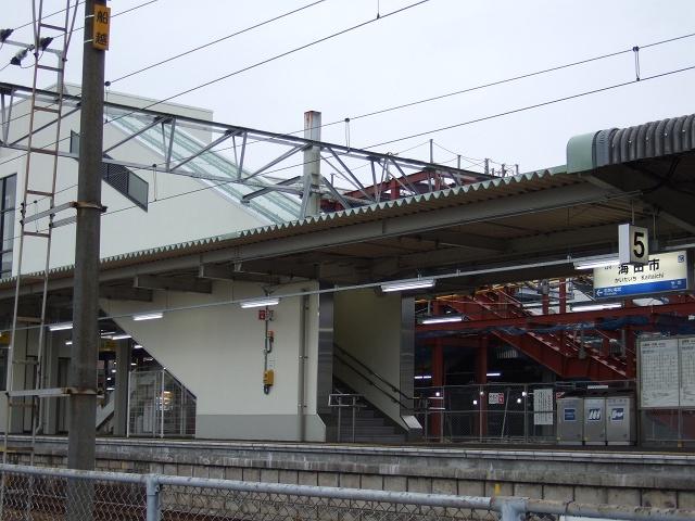 JR海田市駅1番ホーム・バリアフリー化工事_b0095061_935285.jpg