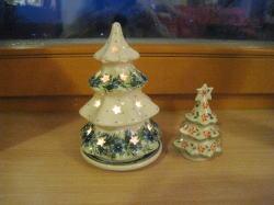 ポーランド食器のクリスマスツリー_c0182100_4124316.jpg