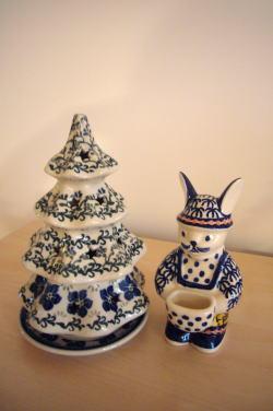 ポーランド食器のクリスマスツリー_c0182100_412591.jpg