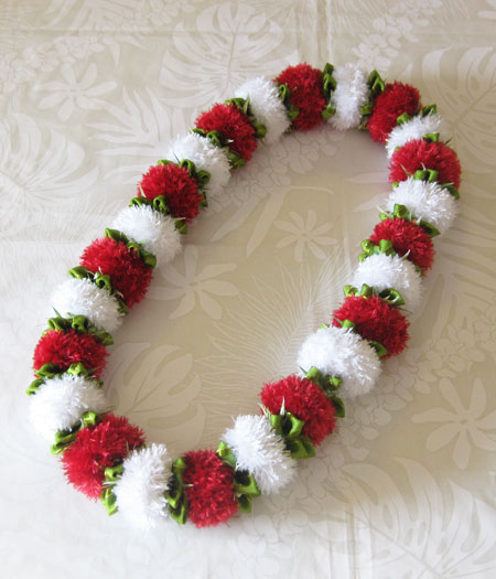 Haole Lehua (Red and White Power Puff) _c0196240_12122012.jpg