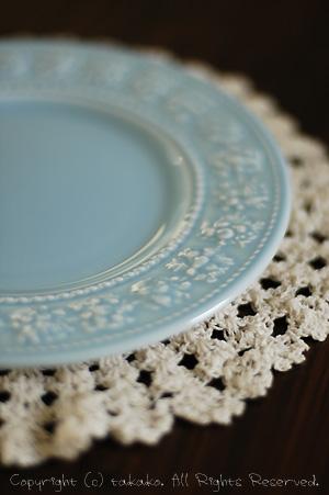 ウェッジウッドのお皿。_c0070460_10143717.jpg