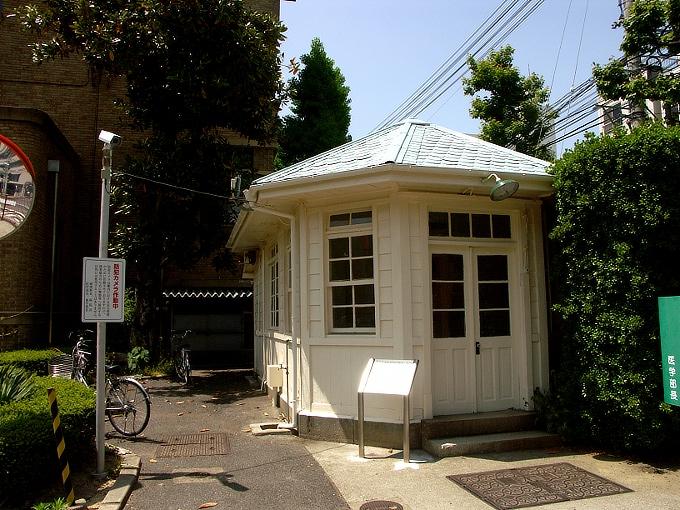 旧岡山医科大学正門・門衛所_f0116479_12154718.jpg