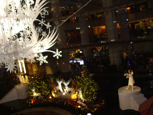都会の風景~キャナルのクリスマスイルミネーション_d0139806_23205386.jpg