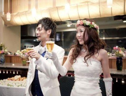 2009.12.18 花嫁さまのお写真 みささんの花冠_b0120777_2044818.jpg
