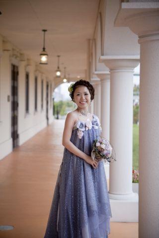 2009.12.18 花嫁さまのお写真 みささんの花冠_b0120777_2153847.jpg