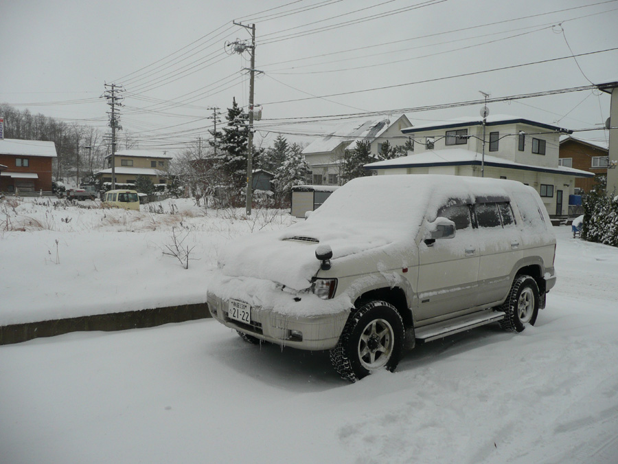 雪が降っています!_f0150893_204342.jpg