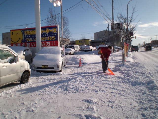 すっかり雪景色。_b0127002_2136755.jpg