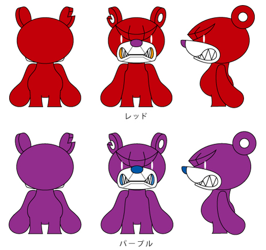 Baby Knuckle Bear PURPLE & RED ご予約受付開始!_f0010033_19571839.jpg