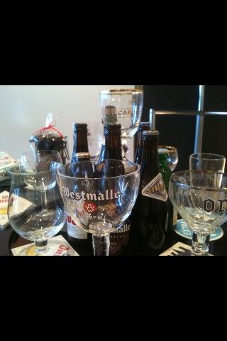 ベルギーのビールグラス_d0069964_23313945.jpg