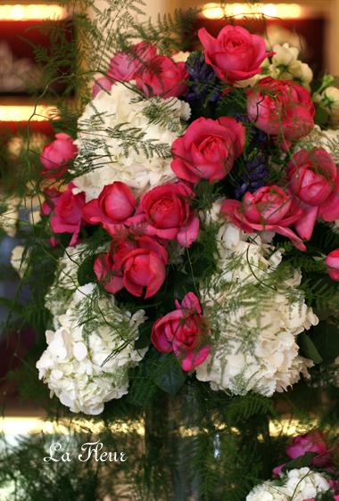 ウェディングの飾花 *お迎え花*_f0127281_2337276.jpg