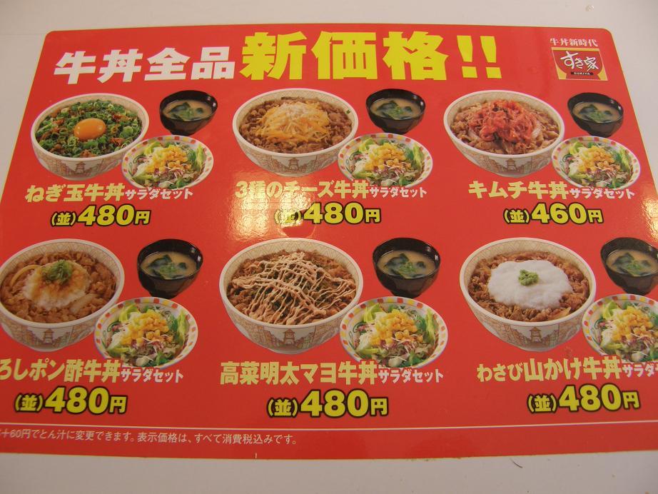 すき家の牛丼    中環大日店_c0118393_7382084.jpg