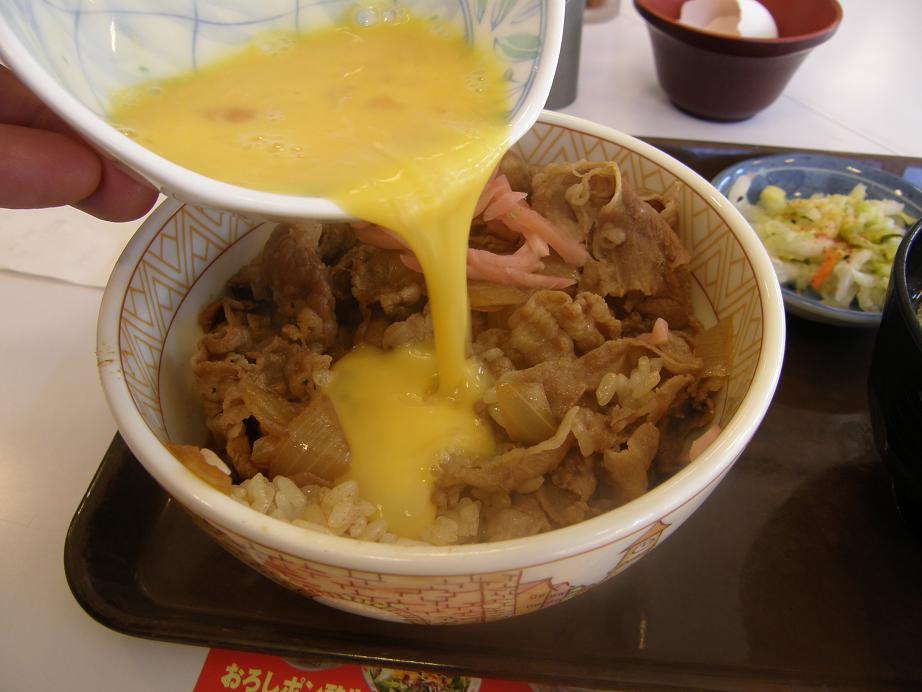 すき家の牛丼    中環大日店_c0118393_7493120.jpg