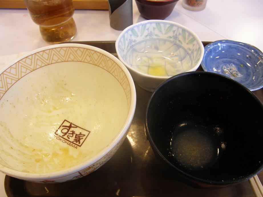 すき家の牛丼    中環大日店_c0118393_7523421.jpg