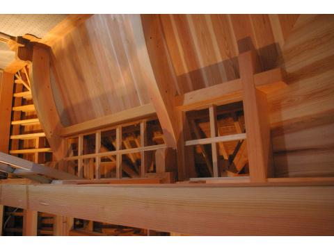 奥の院 格天井と棟札_c0100949_2364668.jpg