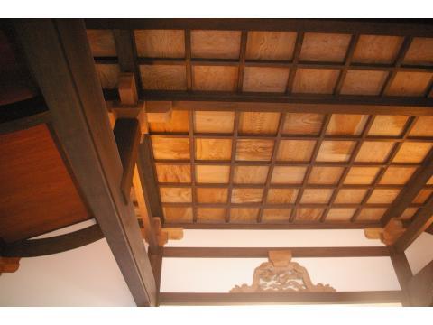 奥の院 格天井と棟札_c0100949_2365661.jpg