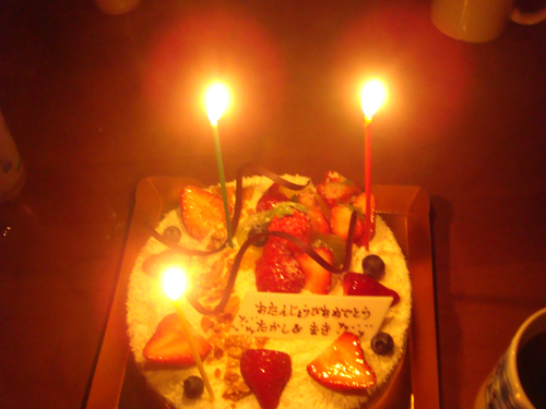 12月21日Wお誕生日の二日間♪_c0070933_21571032.jpg