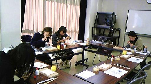 今年最後の教室です。 *恵比寿教室_c0122475_222143.jpg