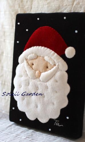 ★作品14・・クリスマスの小さな額_e0154682_1291016.jpg